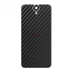 برچسب تزئینی ماهوت مدل Carbon-fiber Texture مناسب برای گوشی  HTC E9 Plus (نقره ای)