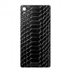برچسب تزئینی ماهوت مدل Snake Leather مناسب برای گوشی  Sony Xperia Z3 Plus