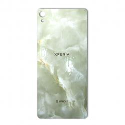 برچسب تزئینی ماهوت مدل Marble-light Special مناسب برای گوشی  Sony Xperia XA (کرم)