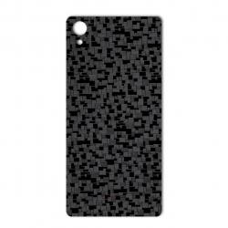 برچسب تزئینی ماهوت مدل Silicon Texture مناسب برای گوشی  Sony Xperia X (مشکی)