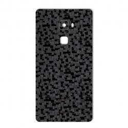 برچسب تزئینی ماهوت مدل Silicon Texture مناسب برای گوشی  Huawei Mate S (نقره ای)