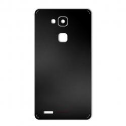 برچسب تزئینی ماهوت مدل Black-color-shades Special مناسب برای گوشی  Huawei Mate 7 (نقرهای مات)