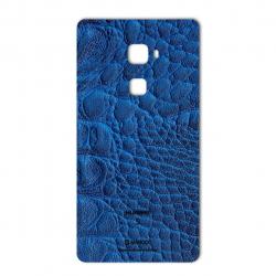 برچسب تزئینی ماهوت مدل Crocodile Leather مناسب برای گوشی  Huawei Mate S (مشکی)