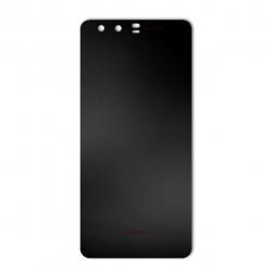 برچسب تزئینی ماهوت مدل Black-color-shades Special مناسب برای گوشی  Huawei P10 Plus (نقرهای مات)