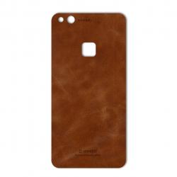 برچسب تزئینی ماهوت مدل Buffalo Leather مناسب برای گوشی Huawei P10 Lite (چند رنگ)