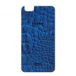 برچسب تزئینی ماهوت مدل Crocodile Leather مناسب برای گوشی  Huawei Honor 4X (مشکی)