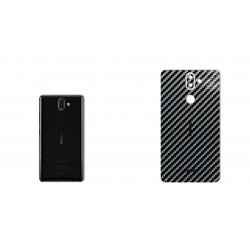 برچسب تزئینی ماهوت مدل Shine-carbon Special مناسب برای گوشی  Nokia 8Sirocco (قهوه ای)