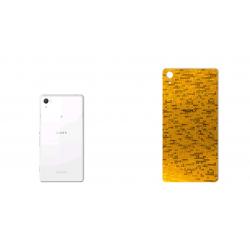 برچسب تزئینی ماهوت مدل  Gold-pixel Special مناسب برای گوشی Sony Xperia Z2 (بی رنگ)