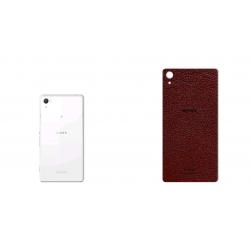 برچسب تزئینی ماهوت مدلNatural Leather مناسب برای گوشی  Sony Xperia Z2 (قهوه ای)