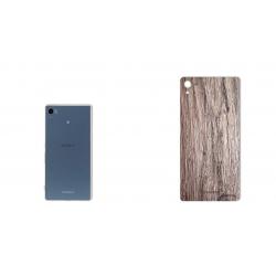 برچسب تزئینی ماهوت مدل Walnut Texture مناسب برای گوشی  Sony Xperia Z3 Plus