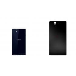 برچسب تزئینی ماهوت مدل Black-color-shades Special مناسب برای گوشی  Sony Xperia Z (نقرهای مات)