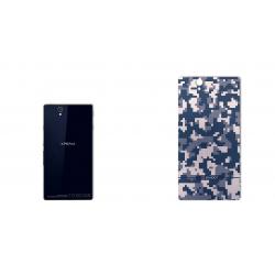 برچسب تزئینی ماهوت مدل Army-pixel Design مناسب برای گوشی Sony Xperia Z (خاکستری)