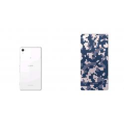 برچسب تزئینی ماهوت مدل Army-pixel Design مناسب برای گوشی Sony Xperia Z2 (آبی)