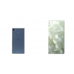برچسب تزئینی ماهوت مدل Marble-light Special مناسب برای گوشی  Sony Xperia Z3 PLUS (سبز روشن)
