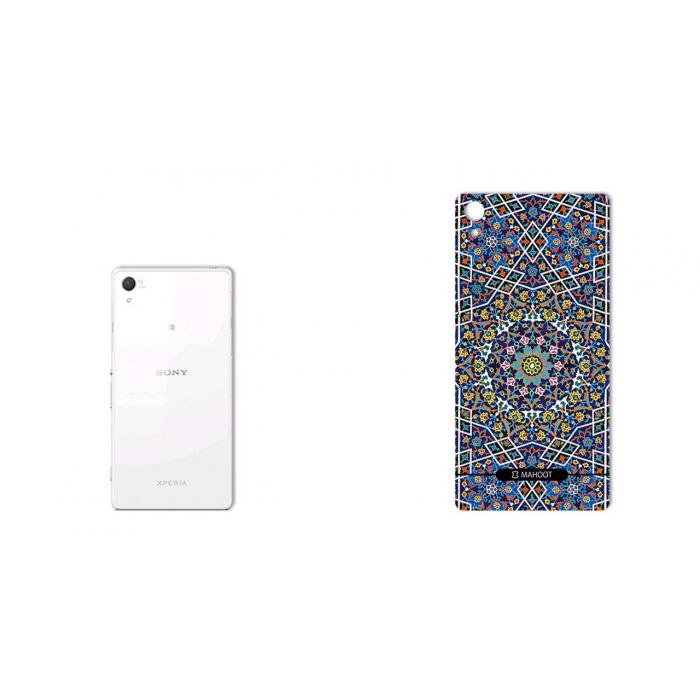 برچسب تزئینی ماهوت مدل Imam Reza shrine-tile Design مناسب برای گوشی  Sony Xperia Z2