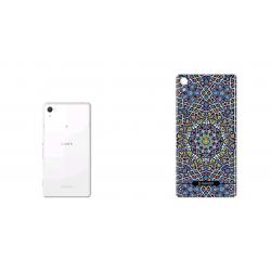 برچسب تزئینی ماهوت مدل Imam Reza shrine-tile Design مناسب برای گوشی  Sony Xperia Z2 (بی رنگ)
