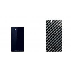 برچسب تزئینی ماهوت مدل Shine-carbon Special مناسب برای گوشی  Sony Xperia Z (قهوه ای)