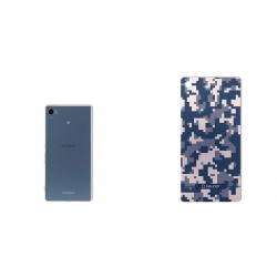برچسب تزئینی ماهوت مدل Army-pixel Design مناسب برای گوشی Sony Xperia Z3 Plus (خاکستری)