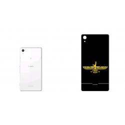 برچسب تزئینی ماهوت مدل Farvahar Design مناسب برای گوشی  Sony Xperia Z2 (بی رنگ)