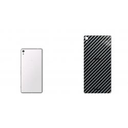 برچسب تزئینی ماهوت مدل Shine-carbon Special مناسب برای گوشی  Sony Xperia XA Ultra (نقره ای)