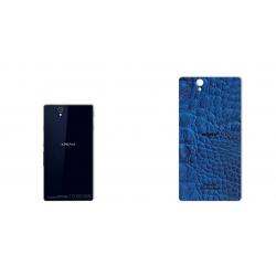 برچسب تزئینی ماهوت مدل Crocodile Leather مناسب برای گوشی  Sony Xperia Z