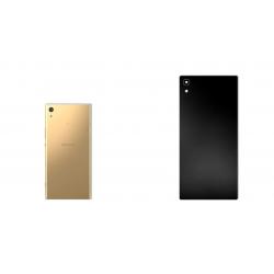 برچسب تزئینی ماهوت مدل Black-color-shades Special مناسب برای گوشی  Sony Xperia XA1 Ultra (سفید چرمی)