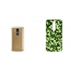 برچسب تزئینی ماهوت مدل Army-Pattern Design مناسب برای گوشی  LG G2 (آبی)