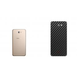 برچسب تزئینی ماهوت مدل Carbon-fiber Texture مناسب برای گوشی  Samsung J7 Prime 2 (طلایی)