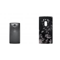 برچسب تزئینی ماهوت مدل Wild-flower Texture مناسب برای گوشی  LG G Flex 2 (زرشکی)