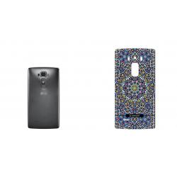 برچسب تزئینی ماهوت مدل Imam Reza shrine-tile Design مناسب برای گوشی  LG G Flex 2 (بی رنگ)