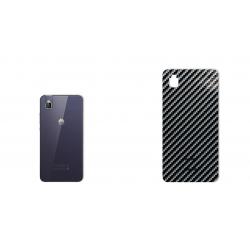 برچسب تزئینی ماهوت مدل Shine-carbon Special مناسب برای گوشی  Huawei Honor 7i-Shot X (نقره ای)