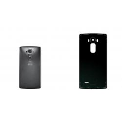 برچسب تزئینی ماهوت مدل Black-suede Special مناسب برای گوشی  LG G Flex 2 (بی رنگ)