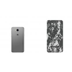 برچسب تزئینی ماهوت مدل Army-pixel Design مناسب برای گوشی Huawei Y5 2017 (خاکستری)