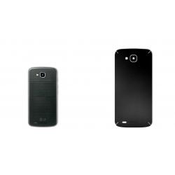 برچسب تزئینی ماهوت مدل Black-color-shades Special مناسب برای گوشی  LG X Venture (مشکی مات)