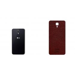 برچسب تزئینی ماهوت مدلNatural Leather مناسب برای گوشی  LG X Screen (کرم)