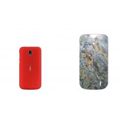 برچسب تزئینی ماهوت مدل Marble-vein-cut Special مناسب برای گوشی  Nokia 1