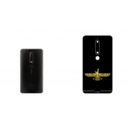 برچسب تزئینی ماهوت مدل Farvahar Design مناسب برای گوشی  Nokia 6/1 (چند رنگ)