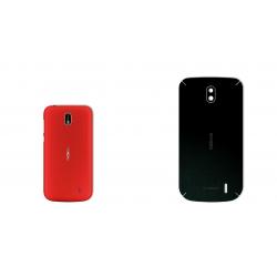 برچسب تزئینی ماهوت مدل Black-suede Special مناسب برای گوشی  Nokia 1
