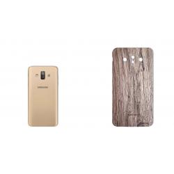 برچسب تزئینی ماهوت مدل Walnut Texture مناسب برای گوشی  Samsung  J7 Duo (چند رنگ)