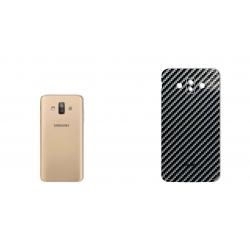برچسب تزئینی ماهوت مدل Shine-carbon Special مناسب برای گوشی  Samsung J7 Duo (قهوه ای)