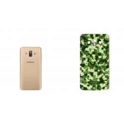 برچسب تزئینی ماهوت مدل Army-Pattern Design مناسب برای گوشی  Samsung J7 Duo (آبی)