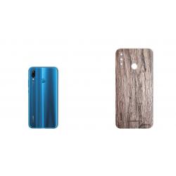 برچسب تزئینی ماهوت مدل Walnut Texture مناسب برای گوشی  Huawei Nova 3e (بی رنگ)