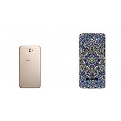 برچسب تزئینی ماهوت مدل Imam Reza shrine-tile Design مناسب برای گوشی  Samsung J7 Prime 2 (بی رنگ)