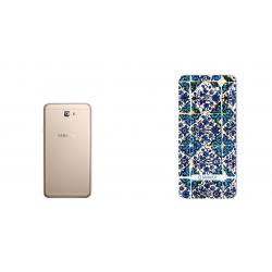 برچسب تزئینی ماهوت مدل Traditional-tile Design مناسب برای گوشی  Samsung J7 Prime 2 (بی رنگ)