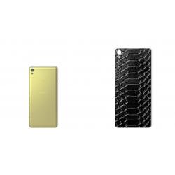 برچسب تزئینی ماهوت مدل Snake Leather مناسب برای گوشی  Sony Xperia XA