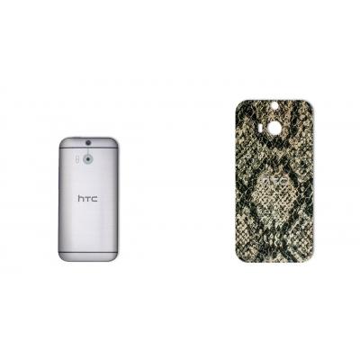 برچسب تزئینی ماهوت مدلJungle-python Texture مناسب برای گوشی  HTC M8 (بی رنگ)