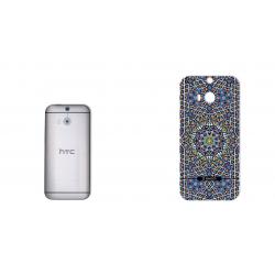 برچسب تزئینی ماهوت مدل Imam Reza shrine-tile Design مناسب برای گوشی  HTC M8 (بی رنگ)