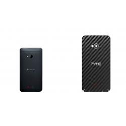 برچسب تزئینی ماهوت مدل Carbon-fiber Texture مناسب برای گوشی  HTC M7