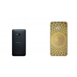 برچسب تزئینی ماهوت مدل  Sheikh Lotfollah Mosque-tile Designمناسب برای گوشی  HTC M7 (بی رنگ)