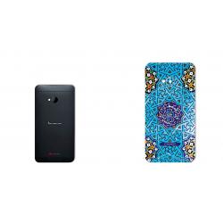 برچسب تزئینی ماهوت مدل Slimi design-tile Design مناسب برای گوشی  HTC M7 (بی رنگ)